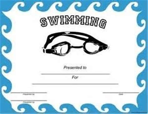 swimming award certificate template the world s catalog of ideas