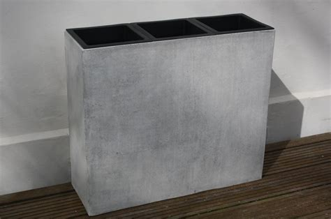 pflanzkübel fiberglas grau raumteiler fiberglas bestseller shop f 252 r m 246 bel und