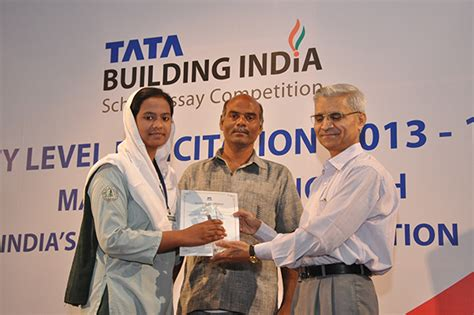 competition 2013 india tata building india essay competition 2013 14