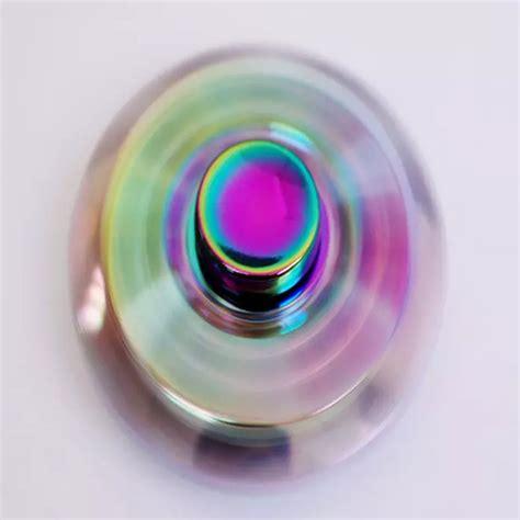 Neo Chrome Rainbow Speedy Metal Aluminium Fidget neo chrome windmill fidget spinner fidget spinner uk