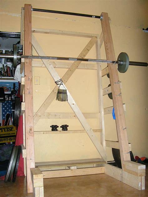 diy squat rack home