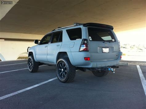 Toyota 4runner 2005 Accessories Wheel Offset 2005 Toyota 4runner Slightly Aggressive