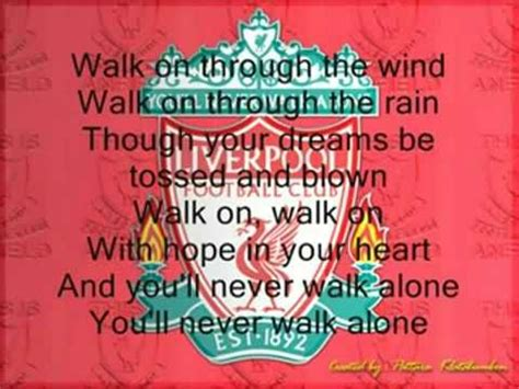 walking away testo 15 best ideas about you ll never walk alone on
