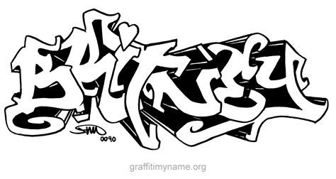 coloring pages of the name brittany brittany in graffiti free coloring pages