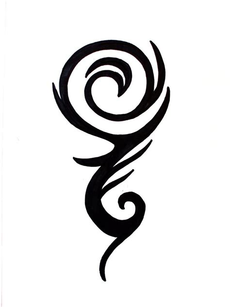 tribal wave tattoo designs tribal wave by moirsypan on deviantart