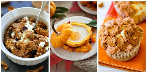 20 pumpkin breakfast recipes ideas for fall breakfasts