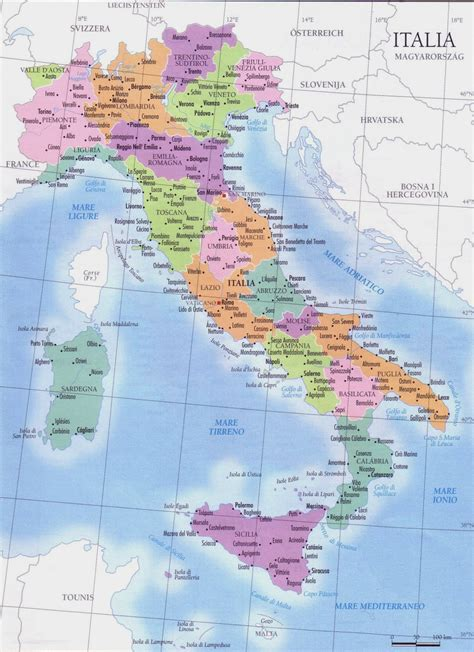 Italy Map Regions by Map Of Italy Regions And Cities Viewing Gallery