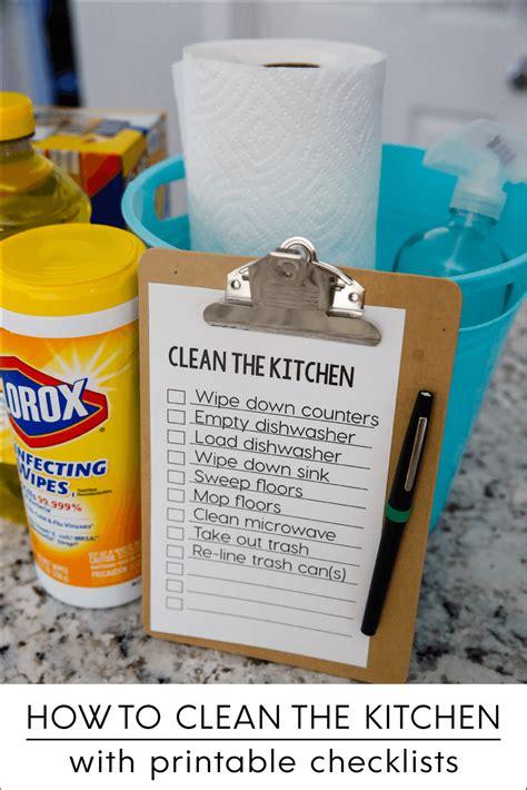 how to clean the kitchen how to clean the kitchen