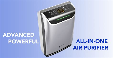 dreval d 950 intelligent all in one air hepa purifier humidifier uv sterilizer ion generator air