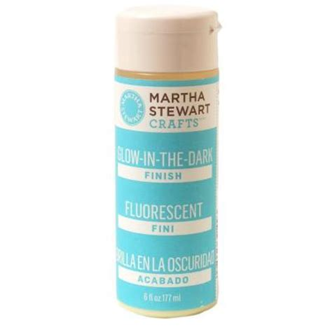 glow in the paint home depot martha stewart crafts 6 oz glow in the craft paint