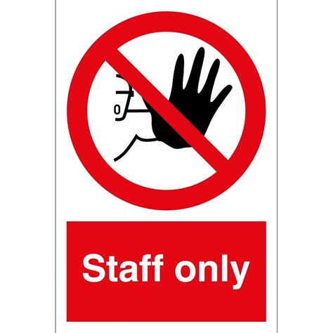 no smoking signs 7 quot x10 quot interior signs seton staff only signs from key 28 images notice
