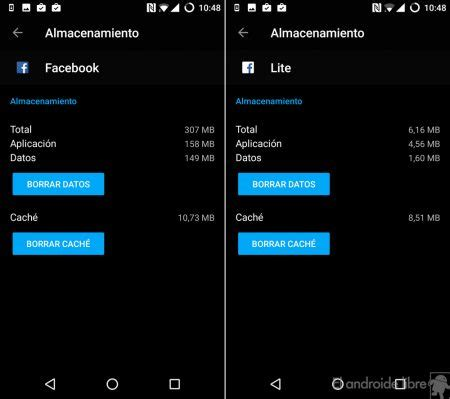 fb lite full version apk comparison of facebook against facebook lite data memory