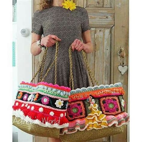 Backpack Adinda 1682 curated croche e tricot bolsas carteiras clotes ideas by agulhasepinceis trapillo