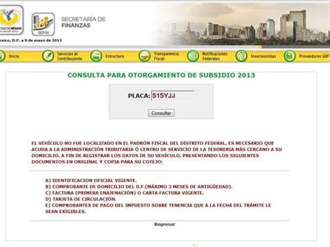 cuando y como tengo que pagar la tenencia y el refrendo formato para pagar la tenencia 2013 c 243 mo y d 243 nde