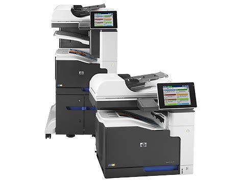 hp laserjet enterprise 700 color mfp m775 series manuals