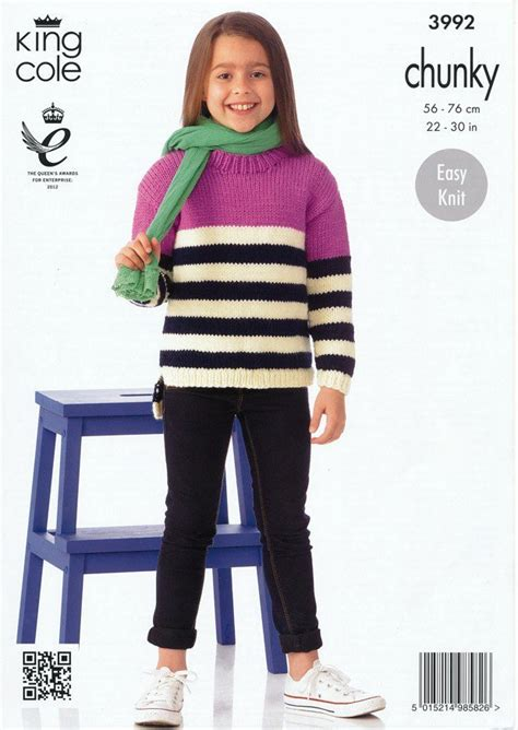 king cole comfort chunky sweaters in king cole comfort chunky 3992
