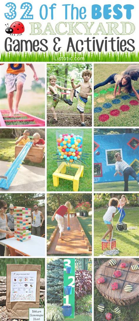 backyard fun 32 of the best diy backyard games gardening viral
