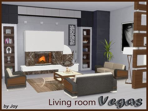 Livingroom Furniture Sets living room vegas the sims 4 simsfinds