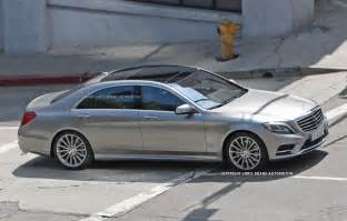 Mercedes S Calss Exhaust Pipe Dreams 2014 Mercedes S Class