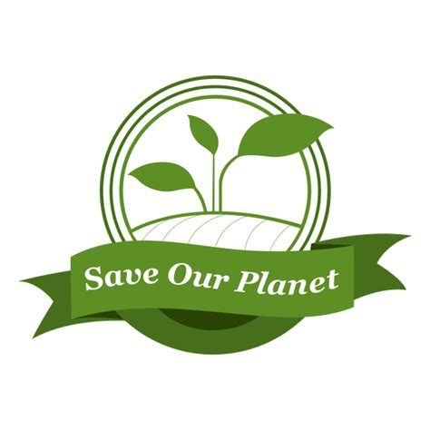 Save Our Planet save our planet label transparent png svg vector