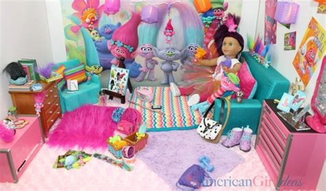 american girl doll trolls bedroom american girl ideas