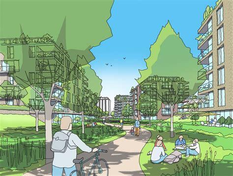 welwyn garden city housing hertfordshire  architect