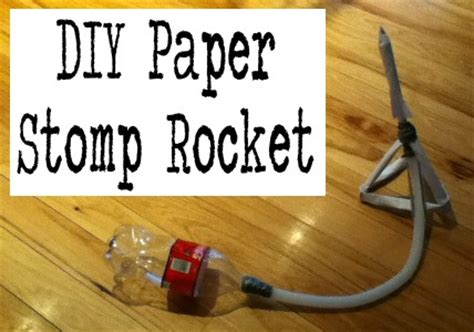 paper stomp rocket template 135 best images about paper toys diy on