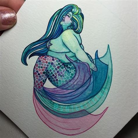 fat mermaid tattoo 17 best images about ideas on beautiful