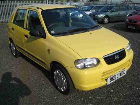 Yellow Suzuki Alto Suzuki 03 53 Alto Gl In Yellow Only 25000 No Reserve To