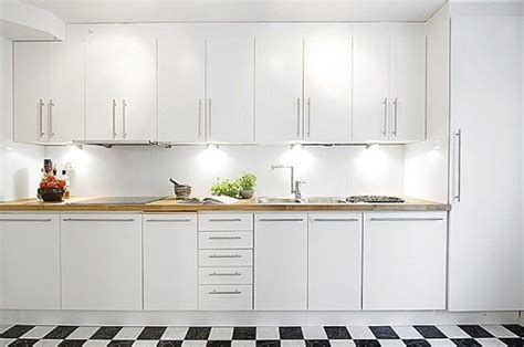 Original Kitchen Design Original Superb White Interiors Design Apartment Kitchen Decobizz