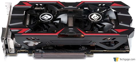 power color powercolor radeon r9 380 pcs graphics card review techgage