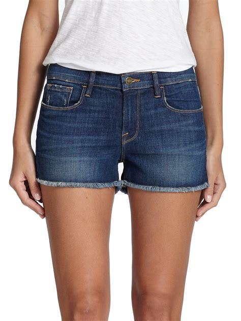 Denim Cutoff cutoff denim shorts hardon clothes