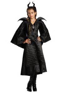 halloween costumes for girls size 10 12 girls deluxe black maleficent christening gown costume
