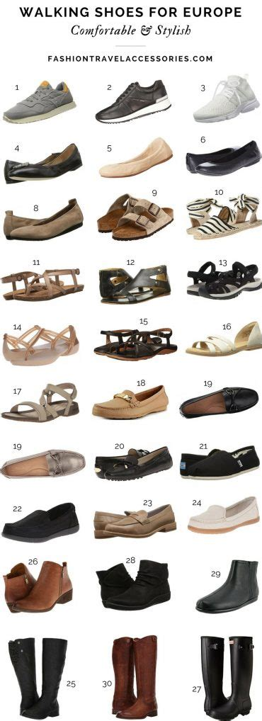Comfortable Stylish Shoes For Travel by Fashion Packing List Pack Versatile
