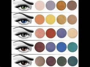 el color colores de sombras que pueden destacar el color de