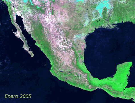 imágenes satelitales obtenidos de goes 13 sistema de monitoreo del cambio en la cobertura de suelo