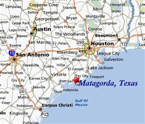 map of bay city texas matagorda texas