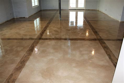 poured epoxy flooring residential images