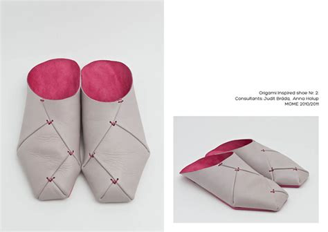 Shoe Origami - origami shoes on behance