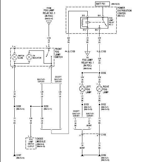 negative trigger fog light relay wiring diagram wiring