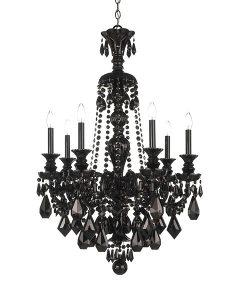 Black Chandelier Crystals Schonbek 5706bk Hamilton Black 26 Inch Chandelier Capitol Lighting 1 800lighting