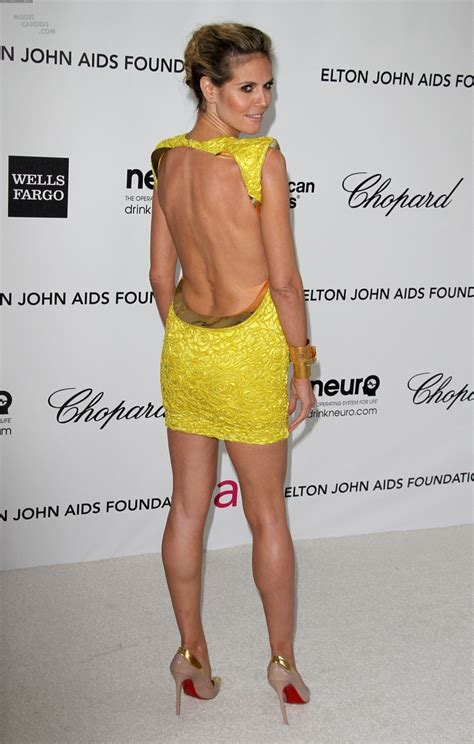 Backless And Beautiful Heidi Klum 17 best images about rear view backless on