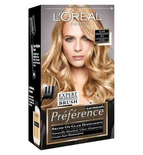 loreal preference hair color range glam highlights l oreal hair colour l oreal hair l