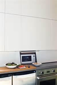 appliance garage from ikea cabinets kitchen pinterest