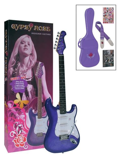 Drayer Gitar Set Krom valencia gre1kcpp elektro gitar set purple askı gıg bag fiyatı