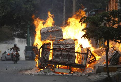 crpc section 200 cauvery row karnataka burns as vehicles set afire shops