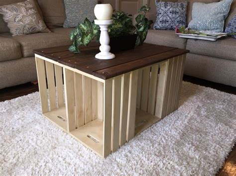 wine crate coffee table for sale 25 best crate coffee tables ideas on wine