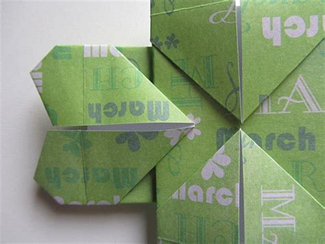 10 Step Origami - origami four leaf clover step 10 cool things to make