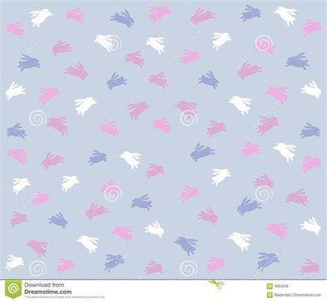 free eastern pattern background blue easter bunny background pattern stock illustration