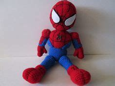 pattern for crochet spiderman doll croshet on pinterest spiderman crochet and amigurumi